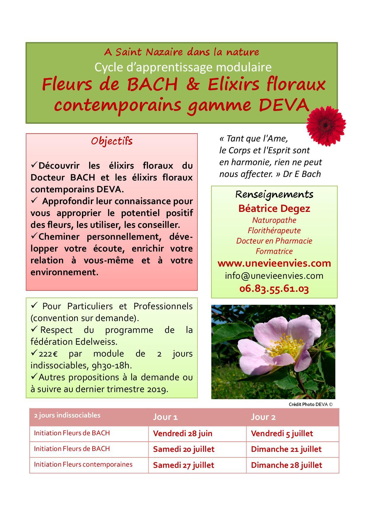 Affiche e floraux stnazaire 2019 semestre 2